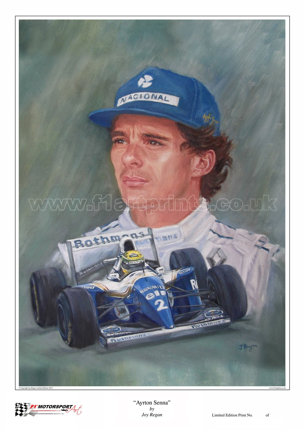 Ayrton-Senna-Portrait-Williams-FW16-Art