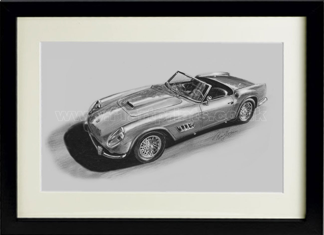 Ferrari-250-GTO-drawing